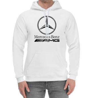 Мужской хлопковый худи Mersedes-Benz AMG