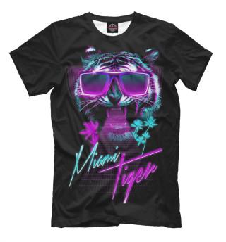 Мужская футболка Miami Tiger