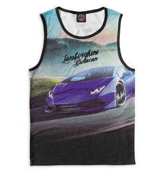 Майка для мальчика Lamborghini Huracan