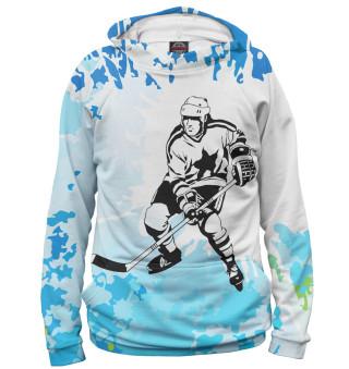 Мужское худи Хоккей