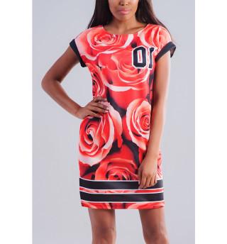 Платье летнее Розы