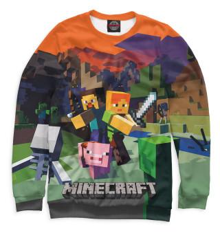 Свитшот для мальчиков Minecraft
