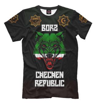 Мужская футболка Borz Akhmat Fight Club