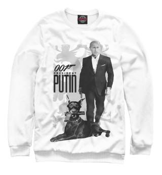 Мужской свитшот Президент Путин