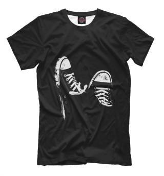 Мужская футболка Кеды