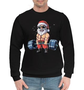 Мужской хлопковый свитшот Power Santa