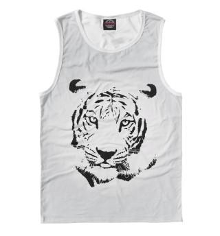 Мужская майка Тигр
