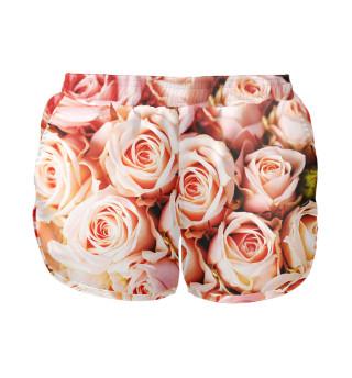 Женские шорты Розы