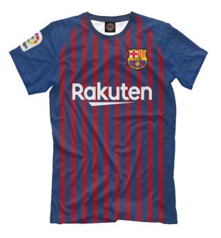 Мужская футболка Барселона форма новая домашняя 2019