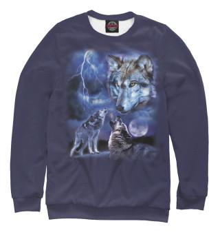 Мужской свитшот Волки