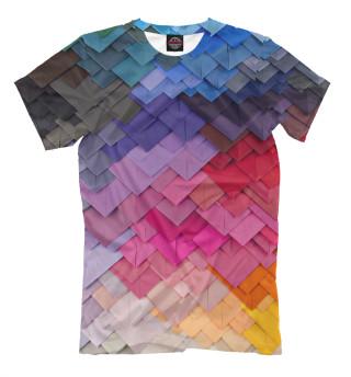 Мужская футболка 3d Envelopes