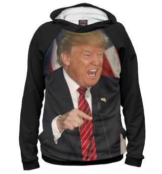 Мужское худи Трамп