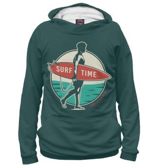 Мужское худи Время серфинга