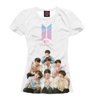 Женская футболка BTS Take love