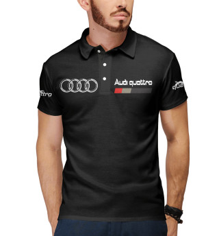 Мужское поло Audi Quattro