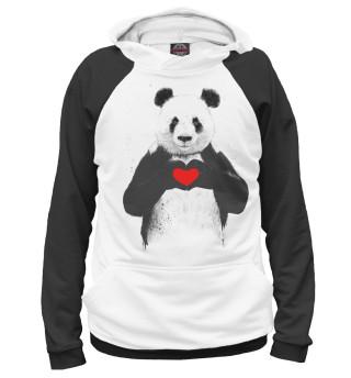 Женское худи Панда