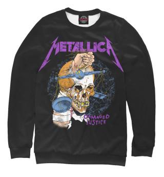 Мужской свитшот Metallica Damaged Justice