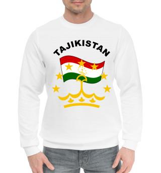 Мужской хлопковый свитшот Tajikistan