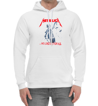Мужской хлопковый худи Metallica