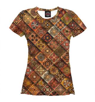 Женская футболка Славянская символика