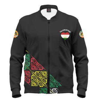Мужской бомбер Таджикистан