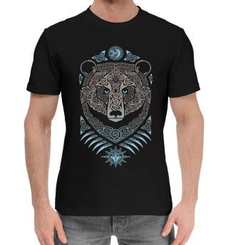 Мужская хлопковая футболка Русский дух