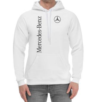 Мужской хлопковый худи Mercedes-Benz