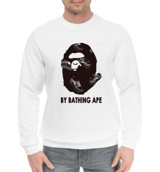 Мужской хлопковый свитшот By Bathing Ape