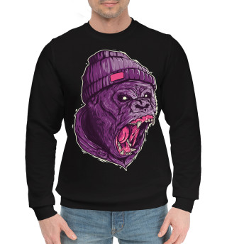 Мужской хлопковый свитшот Gorilla