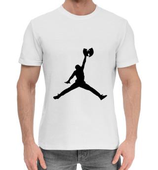Мужская хлопковая футболка Wu-Tang Jordan
