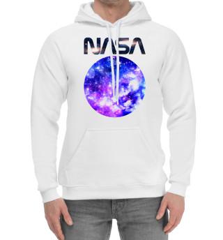 Женский хлопковый худи NASA