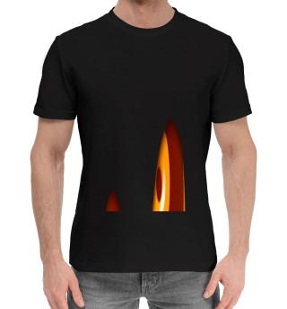 Мужская хлопковая футболка Морда