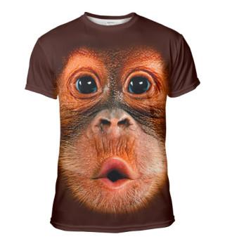 Мужская футболка Орангутанг