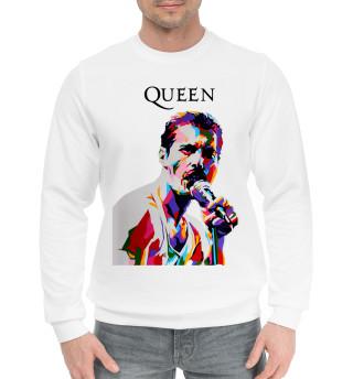 Женский хлопковый свитшот Queen