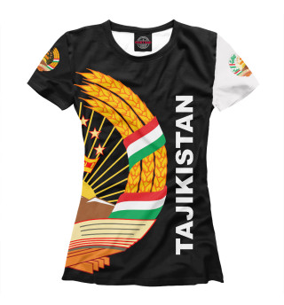 Женская футболка Tajikistan