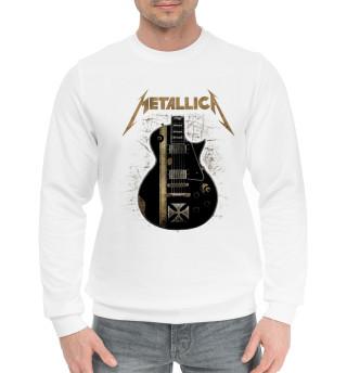 Мужской хлопковый свитшот Metallica