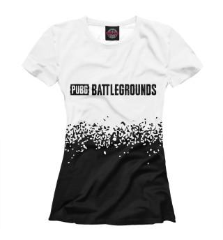 Женская футболка PUBG: Battlegrounds - Paint