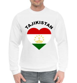 Мужской хлопковый свитшот Таджикистан