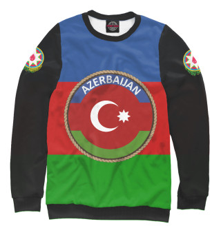 Женский свитшот Азербайджан