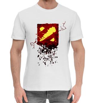 Мужская хлопковая футболка Dota 2