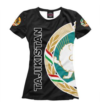 Женская футболка Таджикистан