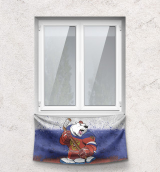 Флаг Медведь
