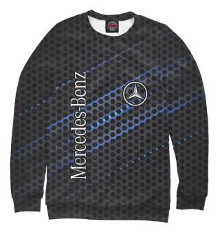 Мужской свитшот Mercedes logo neon