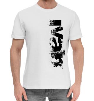 Мужская хлопковая футболка Иван (брызги красок)