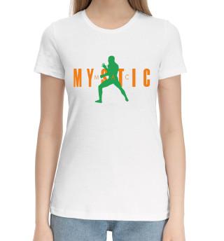 Женская хлопковая футболка МакГрегор