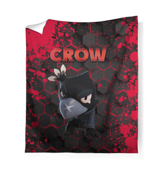 Плед Brawl Stars Crow