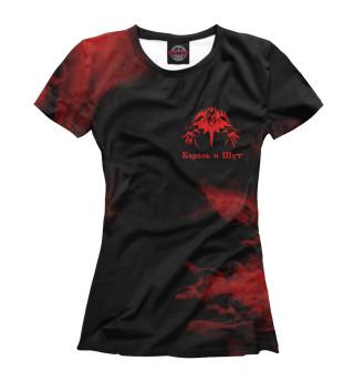 Женская футболка Король и Шут
