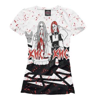 Женская футболка Кис-Кис