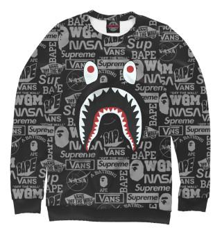 Мужской свитшот Bape shark