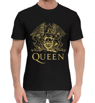Мужская хлопковая футболка Queen